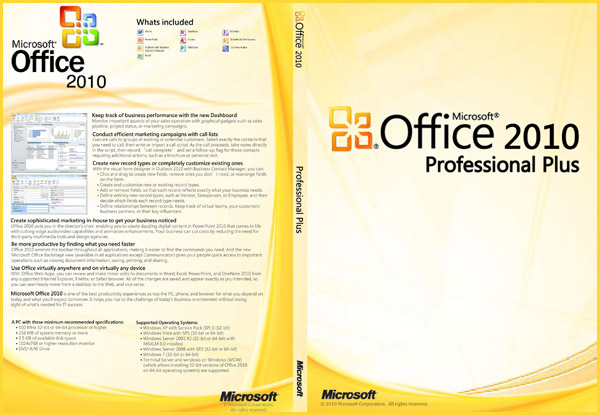 Microsoft Office Professional Plus 2010 Key